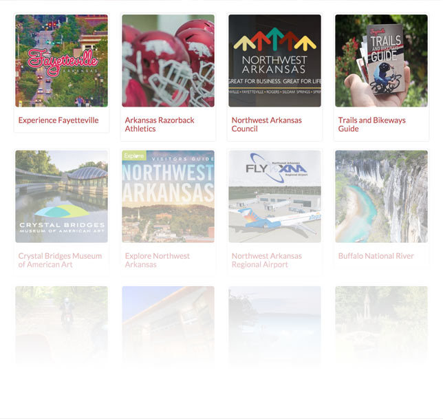 view list of attractions